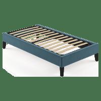 Single Size Upholstered Slimline Bed Base