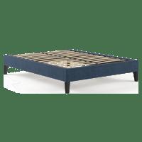Double Size Upholstered Slimline Bed Base