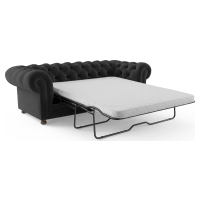 Notting Hill Velvet Chesterfield 3 Seater Sofa Bed