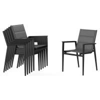 Thornton Outdoor Dining Chair Set of 6