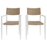 Nelayan Outdoor Dining Chair Set of 2