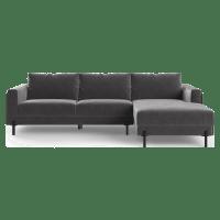 Rodin Modular Sofa with Chaise