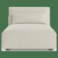 Drake Armless Modular Sofa Piece