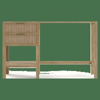 Caledonia Rattan Desk