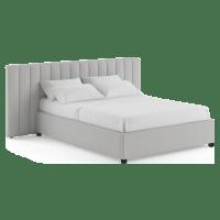 Megan Wide Queen Size Gaslift Bed Frame