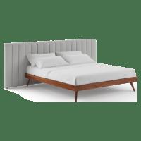 Megan Wide and Frank King Sized Bed Frame