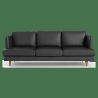 Calvin Leather 3 Seater Sofa