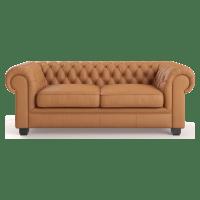 Carlisle Leather 2 Seater Sofa