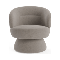 Dame Swivel Accent Chair