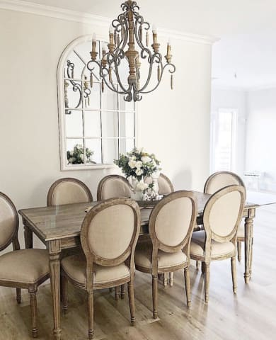 Louis Set Of 2 Dining Chairs, King Louis Dining Room Chairs