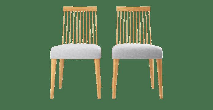 Elizabeth 2x Windsor Spindle Back Chair