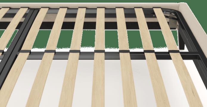 King Size Upholstered Slimline Bed Frame Base