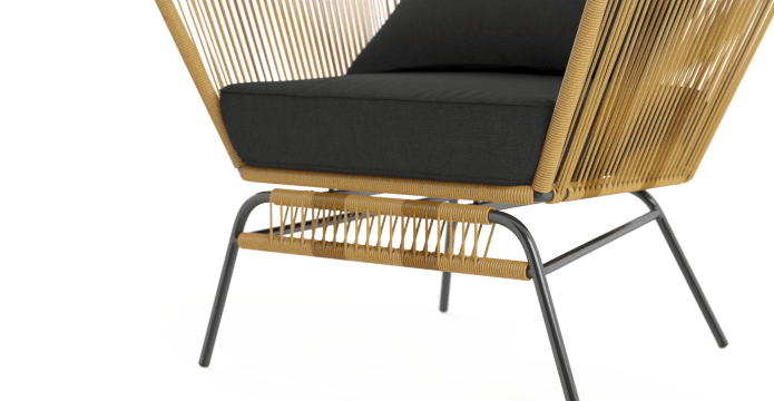 Tenerife Outdoor 2x Dining Chair