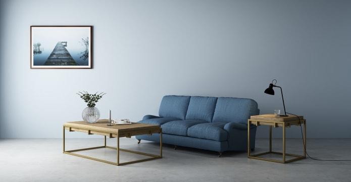 Watkins Coffee Table with Slim Legs
