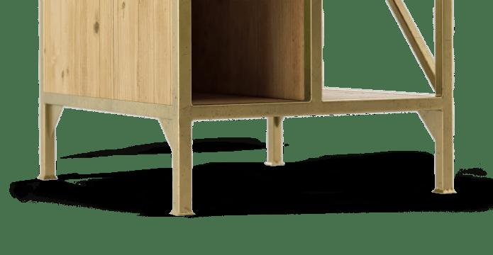 Augustine Bedside Table
