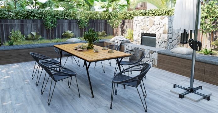 Litchfield Outdoor Dining Table