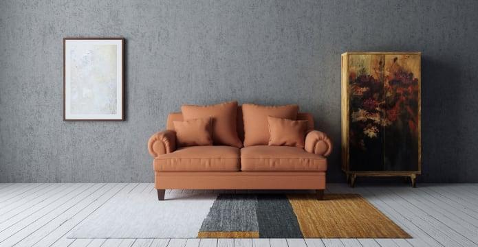 Orai Large Leather Rug 200 x 300cm