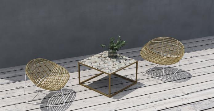 Penn Outdoor Coffee Table