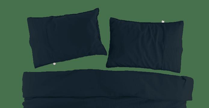 Supima Cotton Insignia Blue Duvet Cover Set