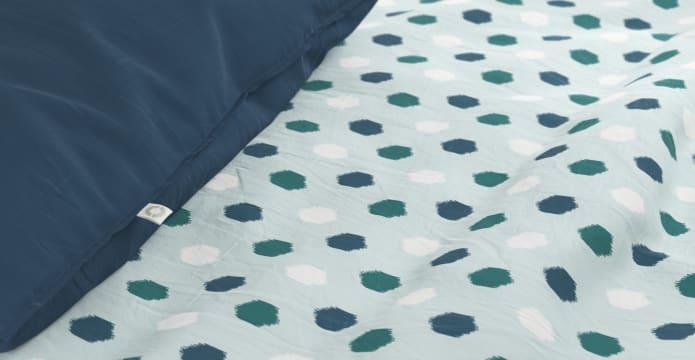 Printed Ikat Duvet Cover Set