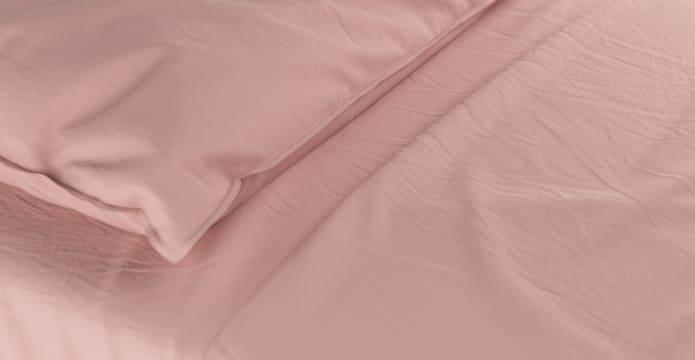 Supima Cotton Mellow Rose Duvet Cover Set