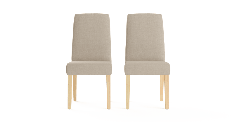 Grace dining chairs french beige