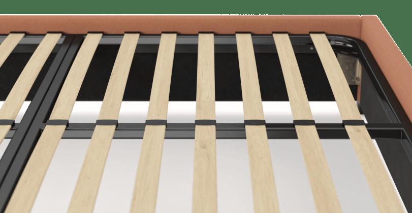 King Size Upholstered Standard Bed Frame Base