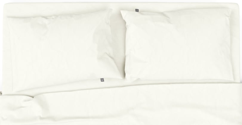 Brosa Essentials Cotton Rich Bed Sheets with Quilt Cover Set Cream
