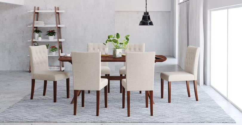 Espen dining chairs and set