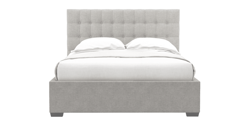 leia gas lift queen size bed frame
