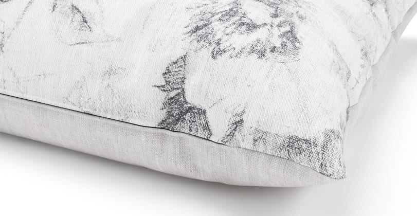Spacecraft Pencil Drawing Cushion