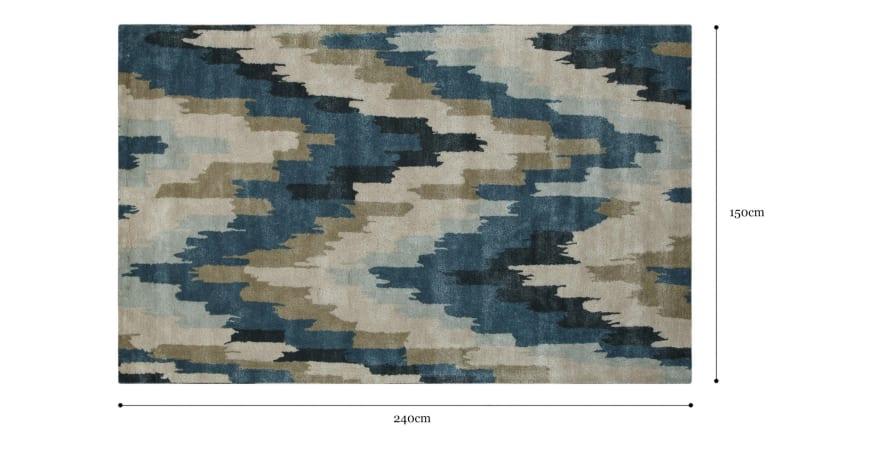 Kappil Wool Rug 150 x 240cm