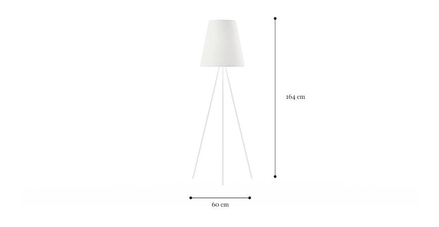 Pluto Tripod Floor Lamp