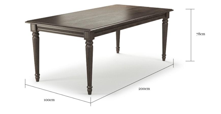 Dorian Classic Dining Table