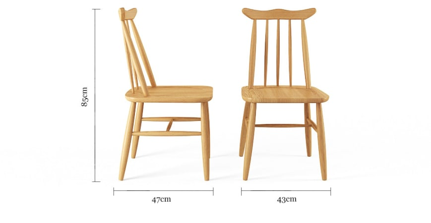 Freya 2x Dining Chair