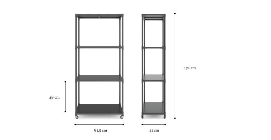 Hemming Wide Shelf