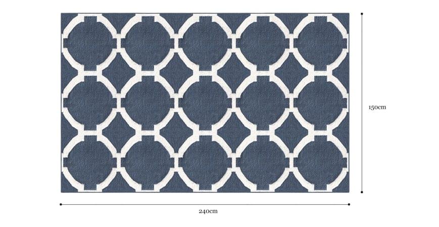 Alegra Wool Rug 150 x 240cm
