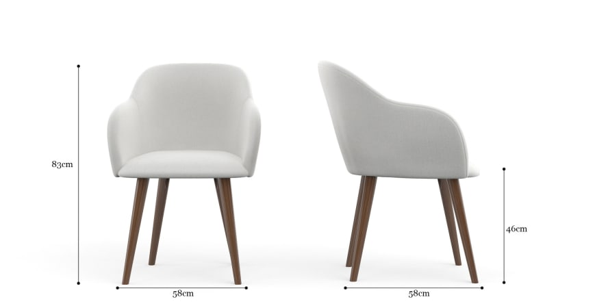 Zeke 2x Dining Chair