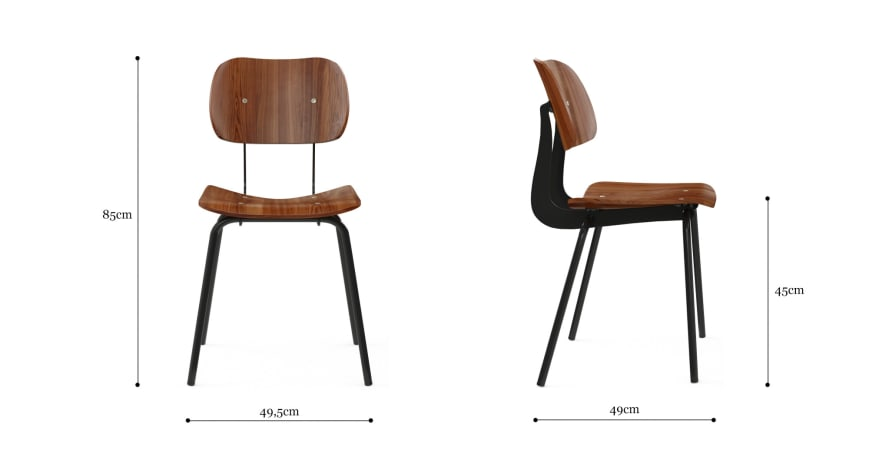 Bowen Dining Table and 4 Kensal Dining Chair Set