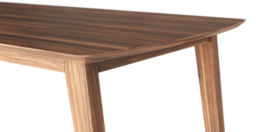 Bristol Dining Table and 4 Mokuzai Dining Chairs