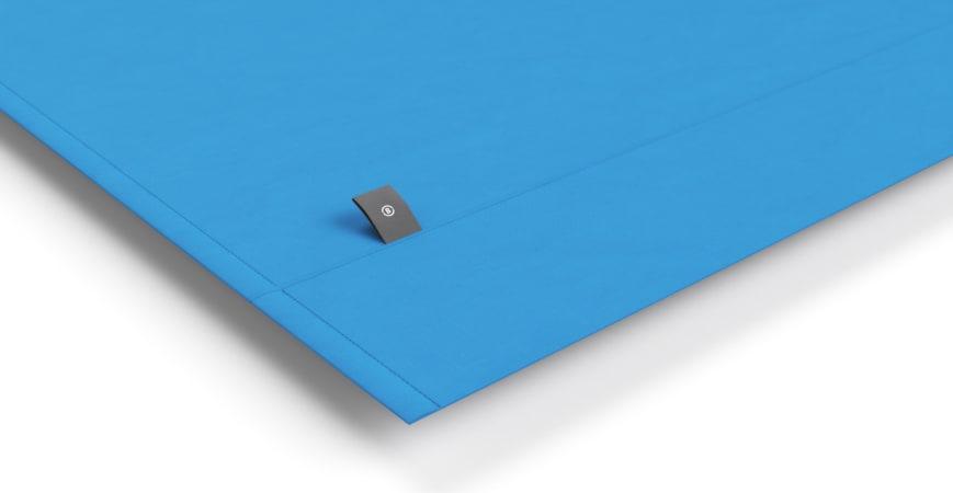 Brosa Essentials Cotton Rich Quilt Cover Set French Blue
