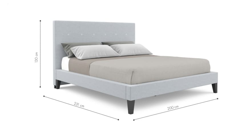 Gisele King Size Bed Frame