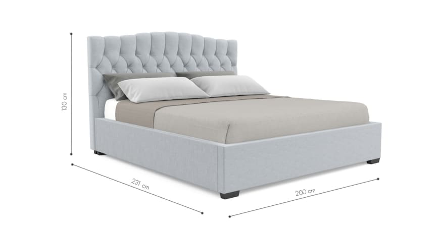 Hannah Gas Lift King Size Bed Frame