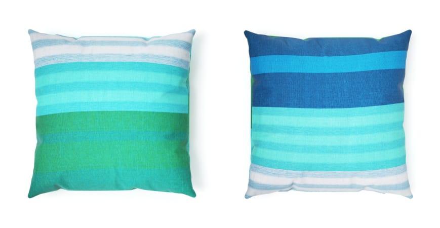 Spacecraft Handloom Aquamarine Cushion