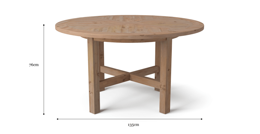 Chelmsford Round Dining Table
