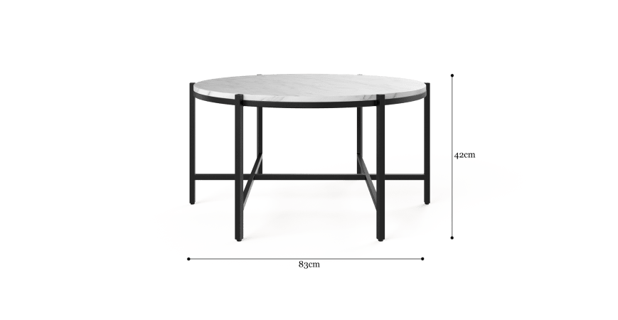 Baron Round Coffee Table