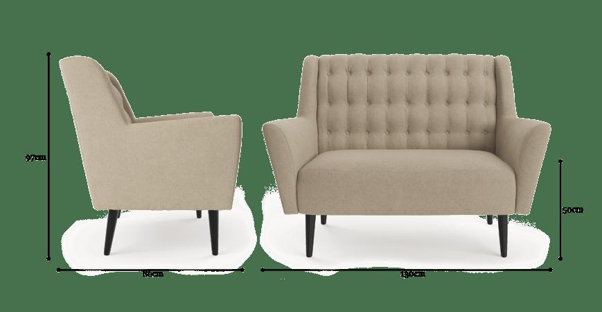 Lilo 2 Seater Sofa