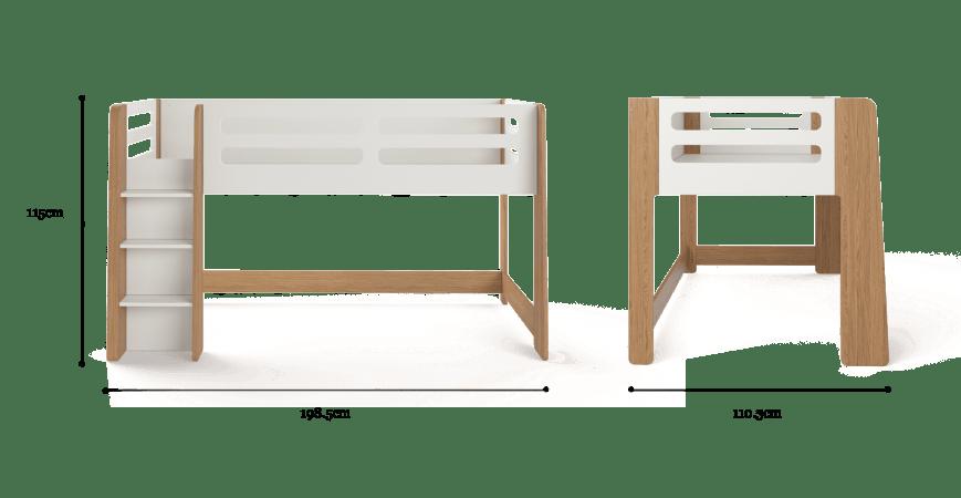 Junior Kids Cabin Bed