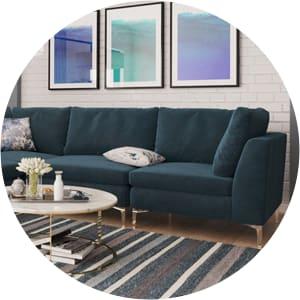 Odette modular sofas