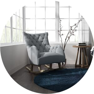 Betty nursery rocking chair